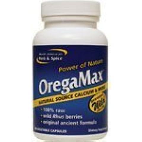 OregaMax, Maximum Strength Wild Herb, 90 Capsules by North American Herb