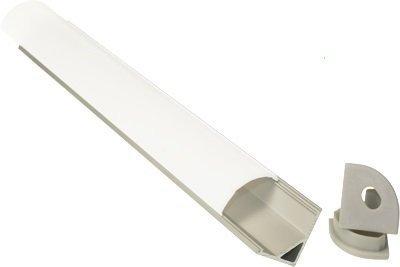 LED bajo mueble, 140 cm, Perfil Angular, modos regulador