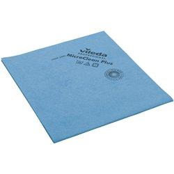 Preisvergleich Produktbild Vileda MicroClean Plus blau Microfasertuch 40x45cm 5 Stück