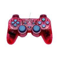 Sony Dual Shock 2 Gamepad Rojo - Volante/mando (Gamepad, Alámbrico, Rojo)