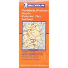 Michelin Karten, Bl.543 : Deutschland Mitte-West (Michelin Regional Maps)