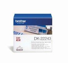 Brother© DK-Endlosetiketten Papier-Etiketten: DK-22243 102 mm x 30,48 m weiá