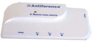 Best Price Square 3WAY Signal Booster Amplifier A1300R by ANTIFERENCE Video Distribution Amplifier