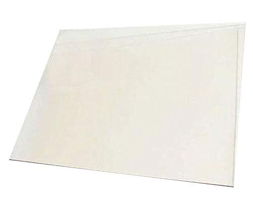 Kaminglasscheibe nach Maß 10x10cm oder kleiner, 4mm stark