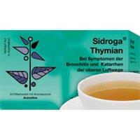 Sidroga Thymian-Tee - Arzneitee bei Husten und Bronchitis - 20 Filterbeutel à 1,6 g