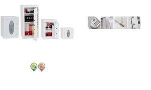 Phoenix Mercury haute sécurité Euro Grade 2coffre-fort avec serrure électronique, Métal, blanc, Taille M - Best Price