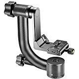Neewer Professionelle Hochleistungs-Kohle Faser 360 Grad Panorama Gimbal Stativkopf mit Arca-Swiss Standard 1/4 Zoll Schnellwechselplatte und Wasserwaage für DSLR Kameras bis 30 Pfund/ 13.6 Kilogramm