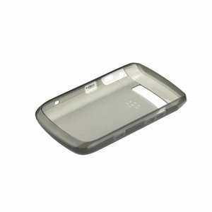 Blackberry ACC-38549-201 Soft Shell Case für Bold 9780 grau