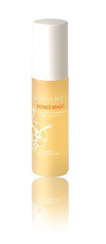 Vasanti Monoi Magic - 98% Pure Monoi De Tahiti Treatment Oil - For Face, Body & Hair