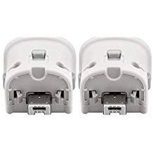 Motion Plus Adapter für Wii-Fernbedienung, Dotca RN07, 2 Stück Wii Motion Plus Adapter für Original Nintendo Wii Controller, Weiß (Remote Wii Weiß Nintendo)