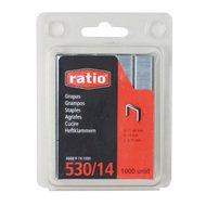 Ratio 6668H14-1000 Boîte de 1000 agrafes 530 14mm