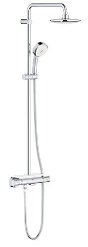 EUPHORIA SYSTEM-Columna de ducha con tapa con 190 tablet, color cromado