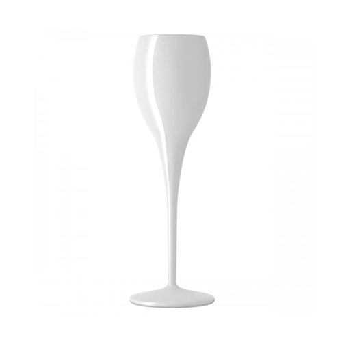 APS - Flute Prive Beach - Sektglas - Champagnerglas - Polykristall - Italesse - weiss 130ml