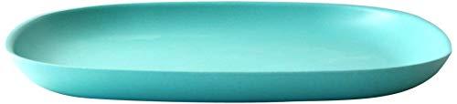 Ekobo 08712 Assiette, 28 x 28 cm, Lagoon