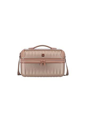 """TITAN Exklusive Eleganz: Gepäckserie \""""BARBARA Glint\"""" Kosmetikkoffer, 38 cm, 12L, Rose Metallic"""