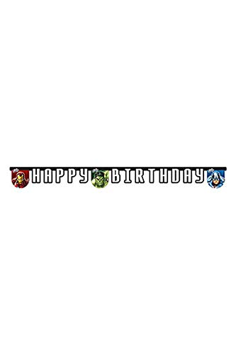 rs Assemble Happy Birthday Banner ()
