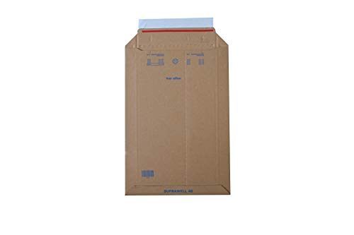 Carte Dozio 7-SW19, Sobre rígida para envío, 200 x 280 mm, pack de 25