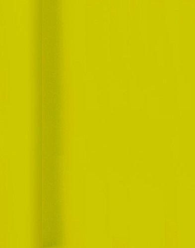 Duni Tischdeckenrollen aus Dunicel® Uni kiwi, 125 x 1000 cm (Papier-servietten Hellgrün)