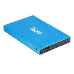 Bipra B: Drive Externe Festplatte mit 2,5Zoll / 6,3cm für Mac (USB 3.0), Blau 80 GB