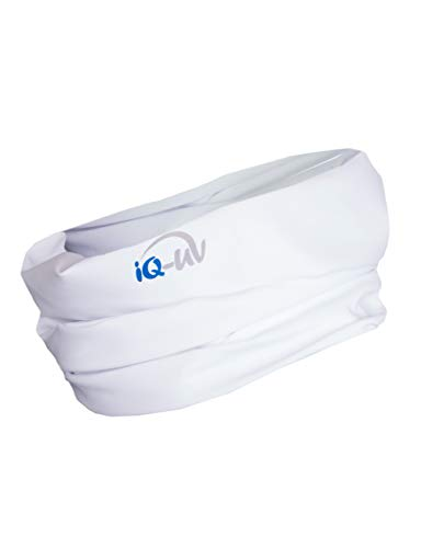 Armee Bandana (iQ-UV Damen 300 Arm Sleeve, UV-Schutz Armlinge Paar Bandana, White, S)