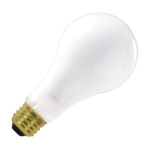 Frosted Satco-glühlampe (S3957200W A23Haushalt–Medium Boden–Frosted–130V (s3982))