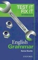 Test it fix it intermediate English grammar