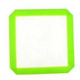Plaque en silicone 20x20cm - Vert et Blanc
