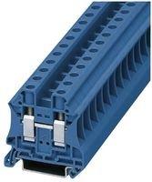 TERMINAL BLOCK, DIN RAIL, 2POS, 10AWG UT 10 BU By PHOENIX CONTACT Phoenix Contact Terminal Block