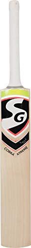 SG Cobra Xtreme Cricketschläger English Willow (kurzer Griff, 1,180-1,250 kg)