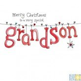 Very Special Grandson-Weihnachten Karten ()