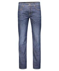 MAC Herren Straight Jeans Arne Modern Fit-Light Weight Denim stoned blue