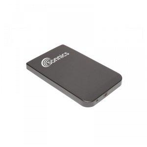 Sonnics 320GB USB 2.0 Portable External Hard Drive Storage - Black