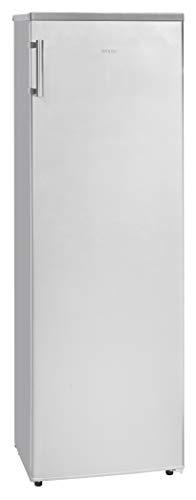 Exquisit KS 301-1 RVA++ Inox look/Kühlschrank ohne Gefrierfach / 169cm hoch/EEK: A++ / LED Innenbeleuchtung/Umluftventilator