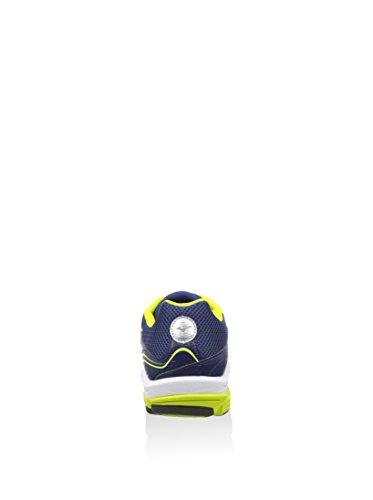Mizuno–Mizuno Wave Impetus 3Chaussure Running Homme Bleu Cuir Tissu Bleu