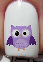 Yeux de hibou - Stickers pour ongles YRNAILS