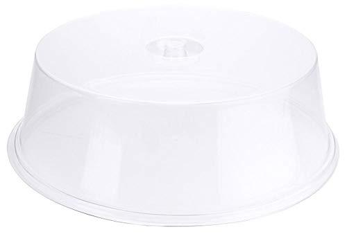 Contacto Hohe Tortenhaube, Ø 42 cm, Innen H11 cm, klares Kunststoff, für Mikrowelle/Gefriertruhe geeignet, -40°C bis +95°C, mit Griffmulde