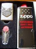 Zippo Feuerzeug Harley Davidson Iron Eagle Geschenk-Set