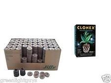 100-st-jiffy-r-50ml-clonex-von-highstreethydro-original-quell-tabletten-torf-quelltopfe-aussaaterde-