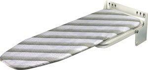 Ironfix Bügelbrett, zur Wandmontage, zum Hochklappen, platzsparend