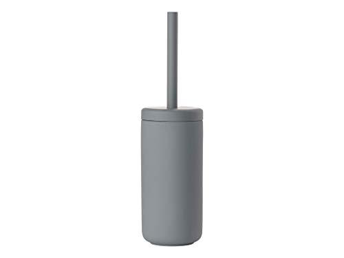 Zone Denmark, Ume WC-Bürste/Toilettenbürste/WC-Garnitur, Steingut mit Soft Touch-Beschichtung, Kunststoff, grau