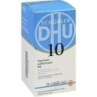 DHU Schüßler-Salz Nr. 10 Natrium sulfuricum D6, 420 St. Tabletten