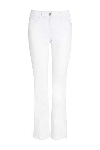 next Damen Bootcut Jeans Weiß EU 42 Regular Essentials Bootcut Jeans