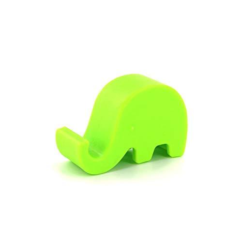 Chytaii Soporte para Movil Soporte Tablet Multiángulo de Movil Soporte Universal de sobremesa Portátil Soporte Perezoso para Mesa/Escritorio Forma de Elefante Lindo
