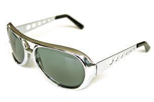 Silber Brille Elvis (Brille Elvis, Silber)