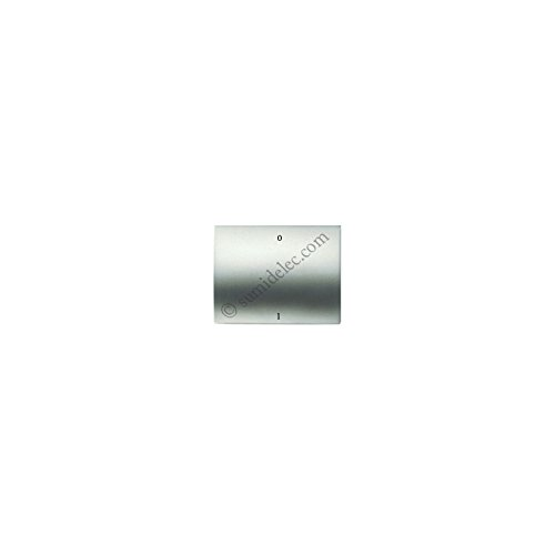 Niessen olas - Tecla interruptor bipolar serie olas acero perla