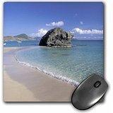 Danita Delimont - The Caribbean - Beach of St. Kitts, West Indies, Caribbean-CA32 NWH0000 - Nik Wheeler - MousePad (mp_75602_1)