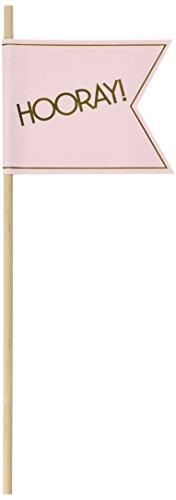 Ginger Ray in Pastelltönen Rosa und Gold Vereitelte Hochzeit Flags / Zauberstäbe Konfetti Alternative - In Pastellfarben Perfektion