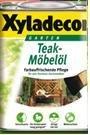 Preisvergleich Produktbild Xyladecor Teak-Möbelöl Teaköl 750ml Farbton Teak