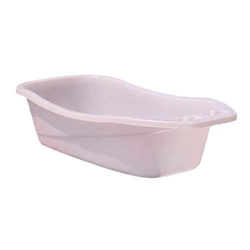 Waschen-hygiene-system (Hundebadewanne, Waschen Schwimmbad Fass Haustier Pflege Bad Lieferungen Für Großen Hund Mit Entwässerung System (Color : White))