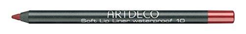 Artdeco Soft Lip Liner Waterproof unisex, Wasserfester Lippenkonturenstift farbe: 10 seductive red,...